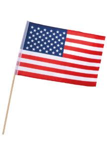 drapeau américain, drapeau des états unis, Drapeau Américain, sur Bâton
