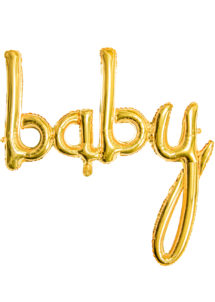 ballon baby shower, ballon baby shower, ballon naissance, Ballon Baby Shower, Lettres Baby Gold