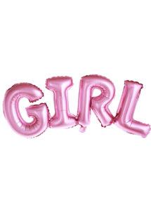 ballon baby shower, ballon baby shower, ballon naissance fille, Ballon Baby Shower, Lettres Girl