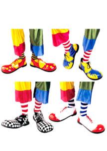 CHAUSSURES-DE-CLOWN-1820S, Chaussures de Clown, 4 Modèles