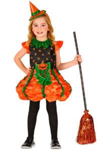déguisement de citrouille fille, déguisement citrouille halloween, citrouille de citrouille halloween, Déguisement de Citrouille Witch, Fille