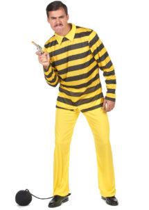 déguisement de dalton, déguisement dalton adulte, costume dalton prisonnier, déguisement prisonnier, déguisement prisonnier américain, costume de dalton adulte, Déguisement Dalton, Licence Lucky Luck