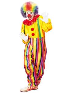 DEGUISEMENT-DE-CLOWN-COMBINAISON-3963, Déguisement Clown, Combinaison Multicolore