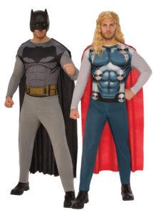 déguisements couples, déguisements duos, déguisements super héros, déguisement Batman, déguisement Thor, Déguisements Couple, Batman et Thor