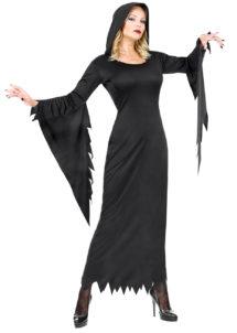 déguisement halloween femme, déguisement sorcière femme, costume halloween femme, Déguisement Gothique Queen