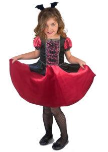 déguisement vampire fille, costume de vampire halloween enfant, Déguisement de Vampire Chauve Souris, Fille