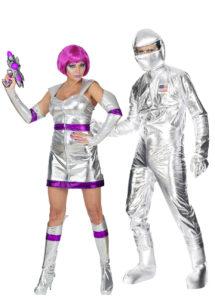 déguisements couples, déguisements duo, déguisements astronautes, déguisements futuristes, Déguisements Couple, Astronautes Futuristes