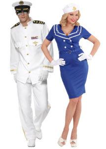 déguisements couples, déguisements duo, déguisements capitaine de marine, déguisements uniformes, Déguisements Couple, Capitaines de Marine