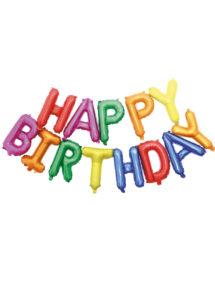 guirlande ballons, guirlande anniversaire, ballons anniversaire, Guirlande de Ballons Happy Birthday, Multicolore