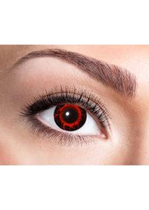 lentilles rouges, lentilles rouges manson, lentilles halloween, lentilles fantaisie, lentilles de couleur, Lentilles Rouges, Cataclysme