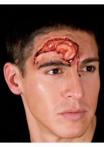 BLESSURE Halloween, blessure attaque d'ours, fausses blessures, effets spéciaux halloween, Blessure FX Woochie, Cerveau Ouvert