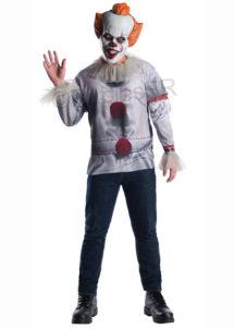 déguisement clown ça, déguisement clown pennywise, déguisement clown halloween, Déguisement Clown Pennywise, avec Masque