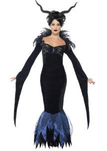 déguisement Halloween femme, déguisement sombre halloween femme, Déguisement de Démon, Lady Raven