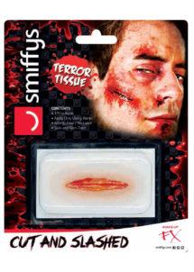 fausses blessures, blessures fx, fausses coupures halloween, blessure halloween 3d, Blessure 3D, Effets Spéciaux FX, Balafre