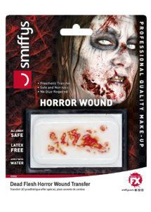 fausses blessures, blessures fx, fausses coupures halloween, blessure halloween 3d, Blessure 3D, Effets Spéciaux FX, Infection Zombie