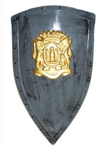 BOUCLIER DEGUISEMENT, BOUCLIER ROMAIN, Bouclier avec Armoiries en Relief, 75 cm