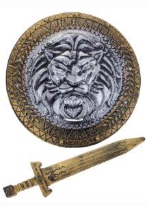 BOUCLIER-ROMAIN-52293, Bouclier et Glaive Romain, Gladiateur
