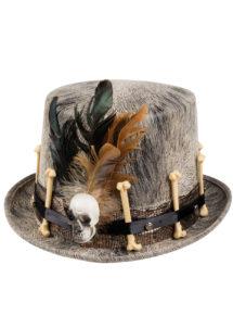 chapeau vaudou, chapeau halloween, chapeau homme halloween, Chapeau Haut de Forme Vaudou, Nawu