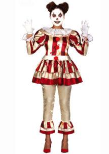 déguisement clown halloween femme, déguisement clown pennywise, costume clown halloween femme, Déguisement Clown Effrayant It