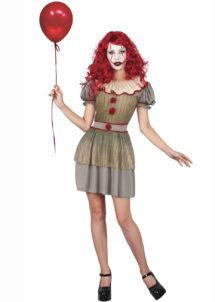 déguisement clown halloween femme, déguisement clown pennywise, costume clown halloween femme, Déguisement Clown Maléfique