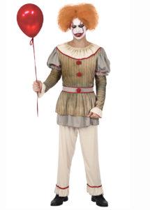 déguisement clown halloween homme, déguisement halloween, déguisement clown tueur, Déguisement Clown Psycho
