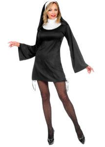 déguisement bonne soeur sexy, déguisement nonne, costume de nonne, Déguisement de Bonne Soeur, Nonne Courte