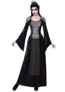 déguisement reine noire, déguisement reine halloween, déguisement reine diabolique, déguisement reine médiévale, Déguisement de Princesse Renaissance, Dark Queen