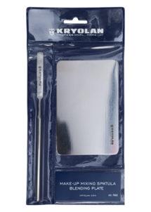 kit spatule maquillage, kit maquillage kryolan, Kit Maquillage, Spatule et Tablette pour Mélanges