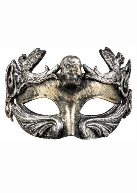 masque baroque, loup baroque, loup baroque tete de mort, Loup Baroque Tête de Mort