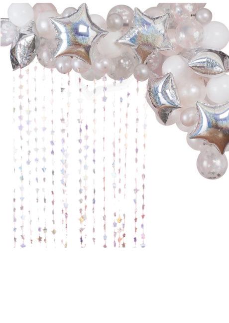 kit arche de ballons, arches pour ballons, arches de ballons, ballons décorations, ginger ray, Arche Guirlande de Ballons, Irisée Hologramme