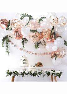 kit arche de ballons, arches pour ballons, arches de ballons, ballons décorations, ginger ray, Arche de Ballons, Rose Gold, Kit Complet