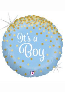 ballon baby shower garçon, ballon hélium, ballon à l'hélium, ballon naissance garçon, décorations baby shower garçon, Ballon Baby Shower, It's a Boy, en Aluminium