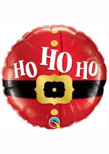 ballon père noël, décoration noël, décorations réveillons, ballon de noël, Ballon Noël, Père Noël, Oh Oh Oh, en Aluminium