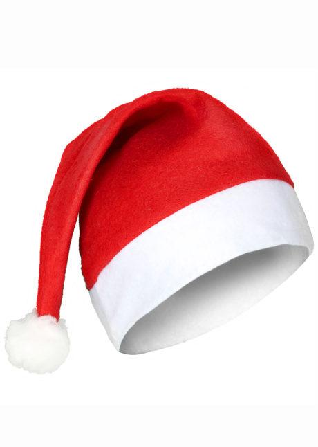 bonnet de noel, bonnet pere noel, chapeaux de noel, Bonnet de Père Noël, Feutrine et Pompon Fourrure