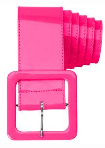 ceinture rose fluo, ceinture déguisement, thème fluo, Ceinture Fluo Rose, Années 80