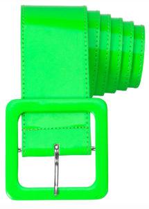 ceinture vert fluo, ceinture déguisement, thème fluo, Ceinture Fluo Verte, Années 80