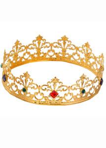 couronne de reine, couronne de roi, couronne royale, couronne reine dorée, Couronne de Reine et Roi Métal, Luxe
