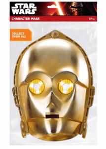 MASQUE-C3PO, masque starwars, masque super héros, masques star Wars, Masque de C3PO, Star Wars