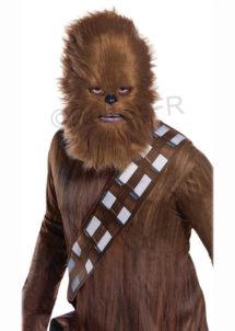 MASQUE-CHEWBACCA-STAR-WARS-masque de Chewbacca, masque de Star Wars, Masque Chewbacca Fausse Fourrure, Star Wars