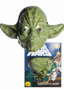MASQUE-maitre Yoda, masque star wars, masque starwars, masque super heros, Masque de Maître Yoda, Vacuforme, Star Wars