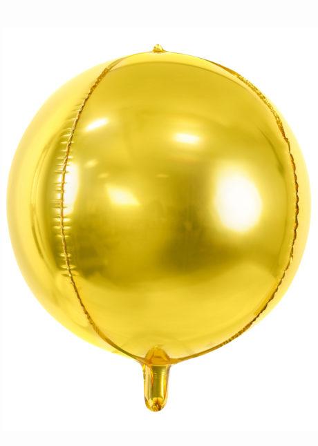 ballon hélium, ballon doré, ballon mylar, ballon aluminium, ballon doré, Ballon Boule Dorée, Globe Aluminium