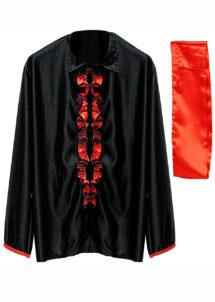 chemise espagnole, déguisement espagnol, déguisement flamenco, Chemise Espagnole Flamenco, avec Ceinture