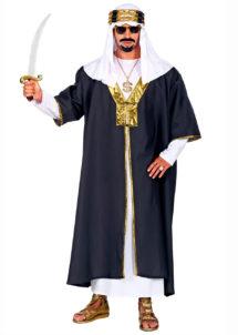 déguisement oriental, déguisement de sultana oriental, costume de sultan, costume de sheik arabe, Déguisement de Sultan Oriental