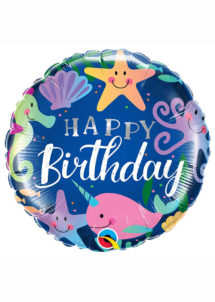 ballon hélium, ballon anniversaire, ballon aluminium, ballons hélium, Ballon Anniversaire, Océan Etoilé, en Aluminium
