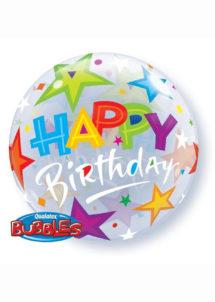 ballon hélium, ballon bubble, ballon transparent, ballon anniversaire, Ballon Anniversaire, Bubble Transparent, Multicolore