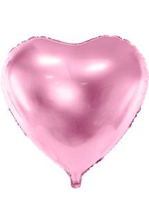 ballon coeur, ballon hélium, ballon aluminium, ballon saint valentin, ballons coeurs rose, Ballon Coeur Rose, 61 cm, en Aluminium