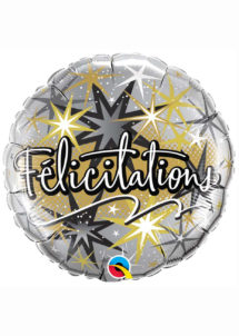 ballon aluminium, ballon félicitations, ballon message, ballons hélium, Ballon Félicitations, en Aluminium