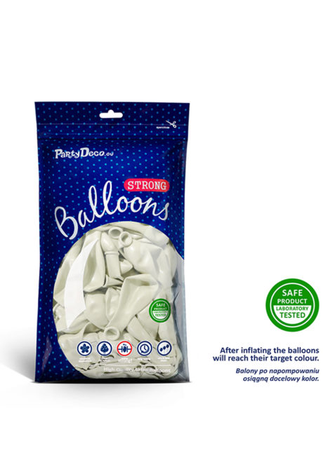ballon hélium, ballon de baudruche, ballon en latex, ballons blancs, Ballons Blanc Pur, en Latex, x 10 ou x 50