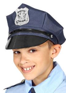 casquette de police, casquette policier enfant, chapeaux enfants, casquette policier garçon, Casquette de Police, Enfant