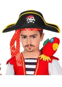 chapeau de pirate enfant, bicorne de pirate, chapeaux de pirates pour enfant, Chapeau de Pirate, Bicorne Enfant